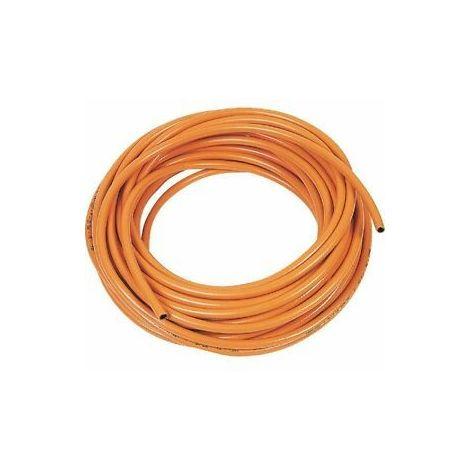 Tuyau de gaz orange propane ø6.3mm au mètre Le Lorrain