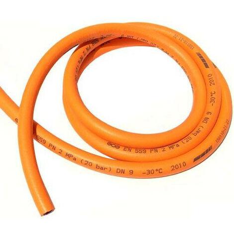 "main image of ""Tuyau de gaz propane orange - Diamètre 8X14"""