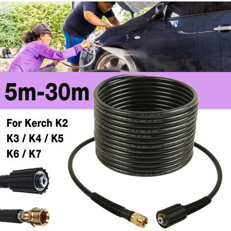 Tuyau de nettoyeur haute pression 10m 40MPa 5800PSI pour KARcher K2 K3 K4 K5 K7 (10 m)