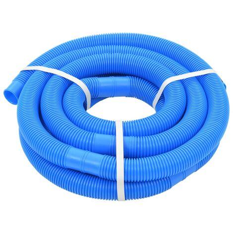 Tuyau de piscine Bleu 32 mm 6,6 m Tuyau d'aspiration de piscine