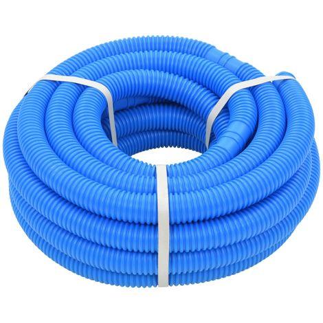 Tuyau de piscine Bleu 38 mm 12 m