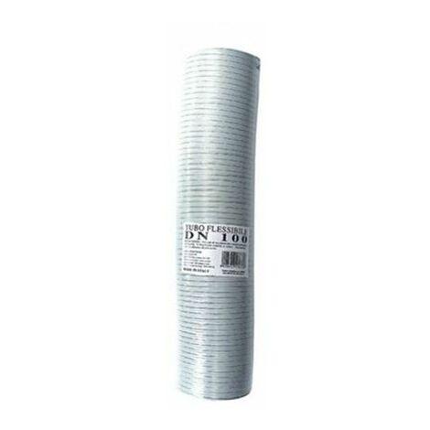 tuyau échappement aluminium BLANC 50mm extensible 1 à 3 mt