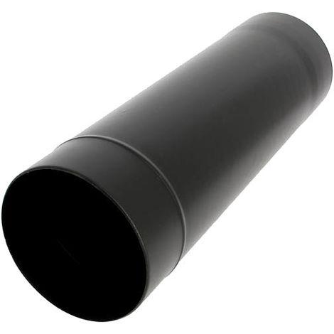 Tuyau émail noir mat O150 x 50 cm