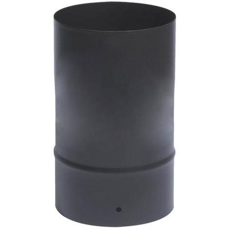 Tuyau émail noir mat O200 x 25 cm