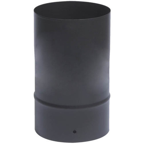 Tuyau émail noir mat O97 x 25 cm