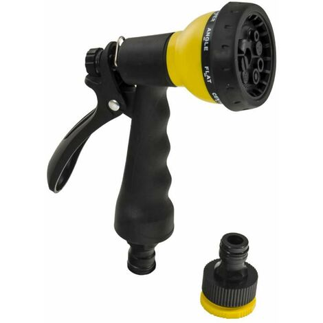 Tuyau extensible jaune 30 m + pistolet