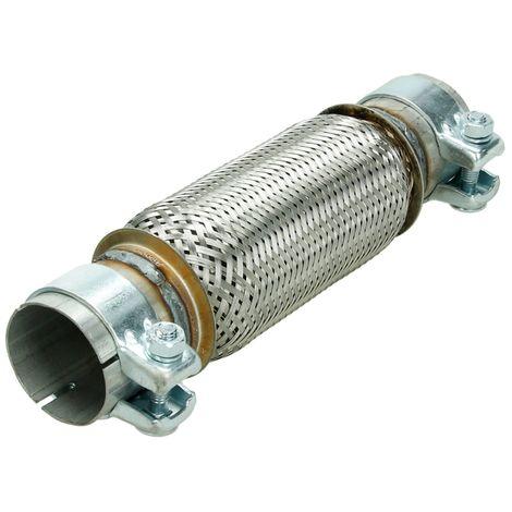 Tuyau flexible flexhose echappement 60 x 200 assemblage sans soudage joint tube