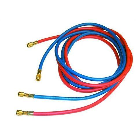 Tuyau flexible pour vide et charge pour gaz r22 tr422 b r407 c r404 a r134 a r410 a 11458