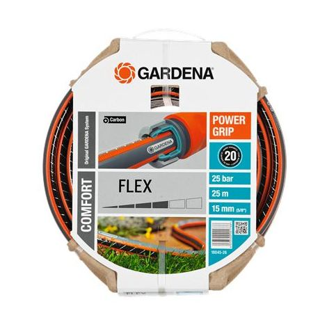 Tuyau GARDENA PowerGrip Flex Ø15mm L. 25m - 18045-26
