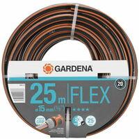 Tuyau GARDENA PowerGrip Flex Ø15mm Longueur 25m - 18045-26