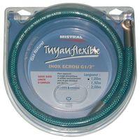Tuyau gaz naturel - flexible - inox - 1 m