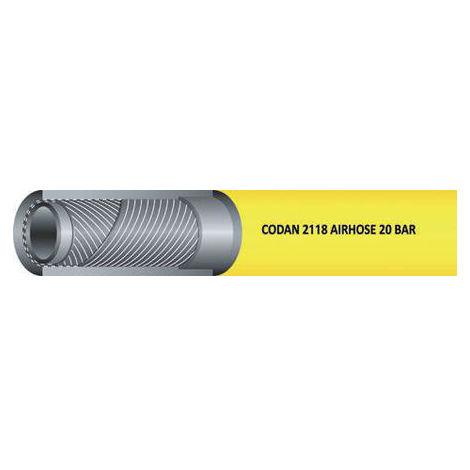 Tuyau Jaune RS PRO, diamètre interne: 25mm, longueur 25m, pour Air, Eau