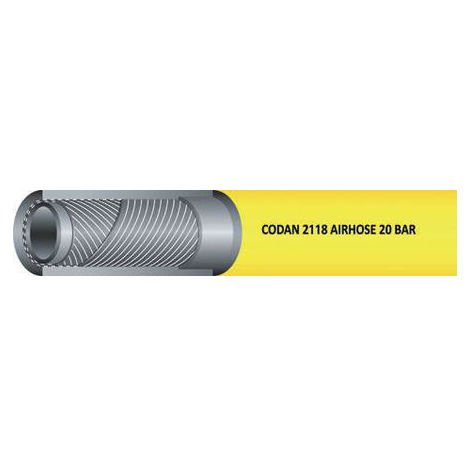 Tuyau Jaune RS PRO, diamètre interne: 13mm, longueur 25m, pour Air, Eau