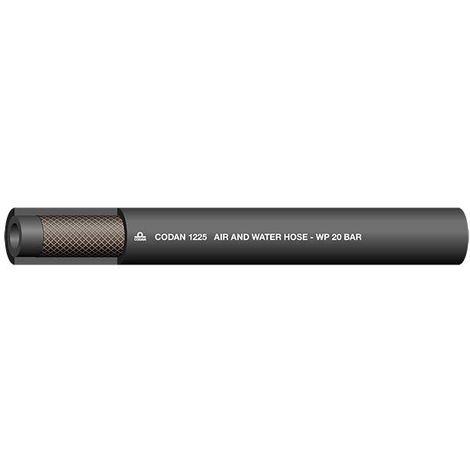 Tuyau Noir RS PRO, diamètre interne: 25mm, longueur 25m, pour Air, Eau