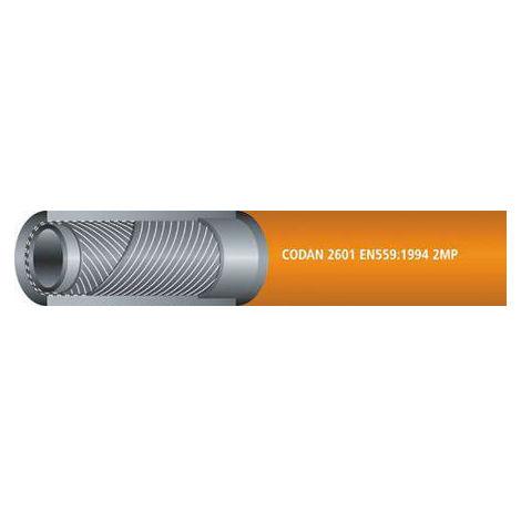 Tuyau Noir RS PRO, diamètre interne: 9.5mm, longueur 25m, pour Air, Eau