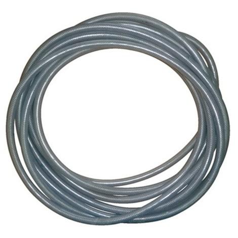 Tuyau pneumatique PVC transparent renforcé D. 13 x 19 mm - TUBPVC13 - Alsafix - -