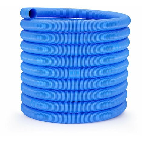 Tuyau pour piscine - Ø 32 mm - 15 m bleu - Bleu