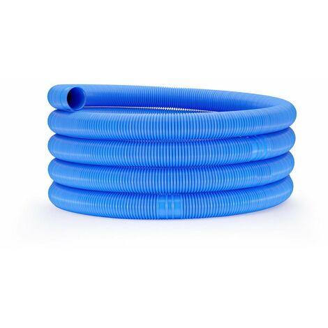 Tuyau pour piscine - Ø 32 mm - 6 m bleu - Bleu