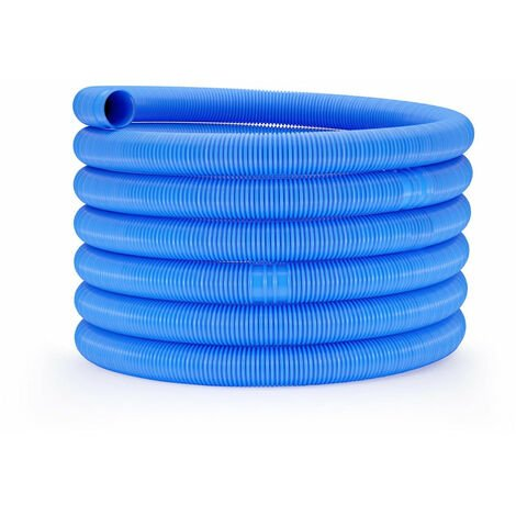Tuyau pour piscine - Ø 32 mm - 9 m bleu - Bleu