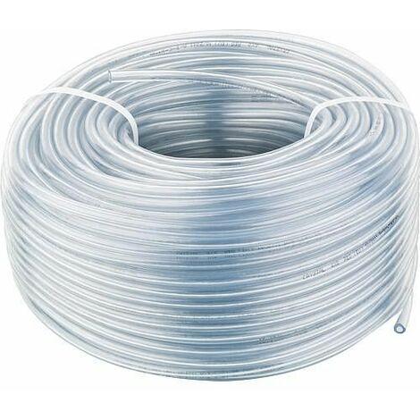 Tuyau PVC transparent 4 x 1,5 mm, couronne de 100m