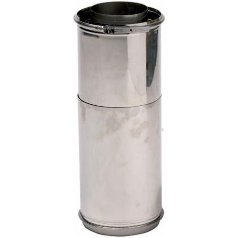 Tuyau réglable inox 316/galva O300-350
