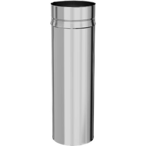Tuyau rigide Inox - Diam 200 mm - Longueur 0,50M - TEN