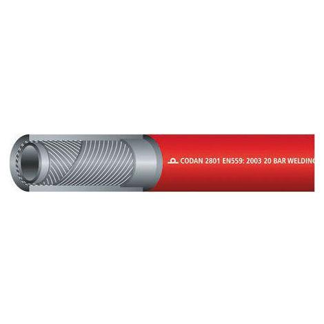 Tuyau Rouge RS PRO, diamètre interne: 6.3mm, longueur 25m, pour Acétylène Gaz