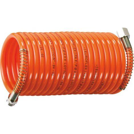 Tuyau spiral nylon 6 avec raccord 1 /4m-1/4f pivot - S06562