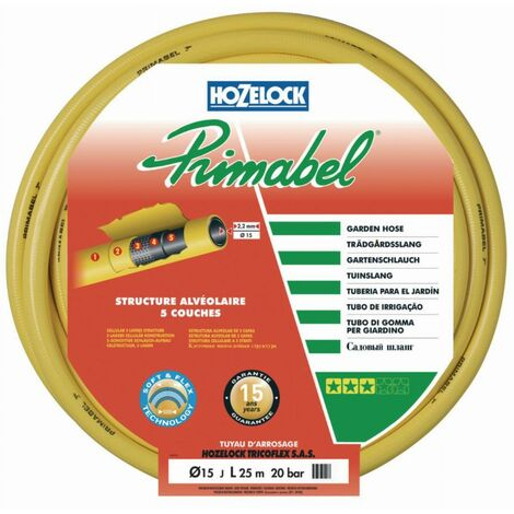 "main image of ""Tuyau PRIMABEL 15mm - 25m de Tricoflex - Tuyau arrosage"""