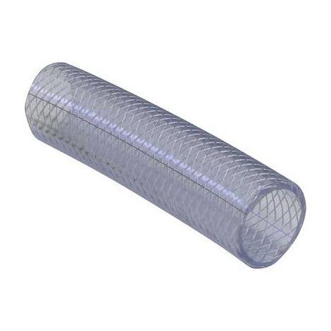 Tuyau textile 1 pouces TOOLCRAFT 538892 transparent