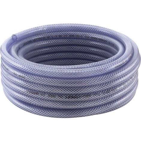 Tuyau Tricoclair PVC 19x3,5mm 50m