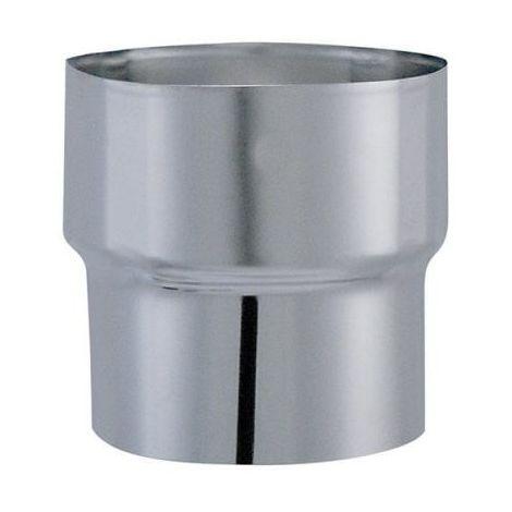 Tuyau Tyral inox 304 - Longueur 1 m - Réduction conique en inox - 230mm femelle / 180mm mâle