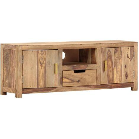 TV Cabinet 118x29x42 cm Solid Sheesham Wood