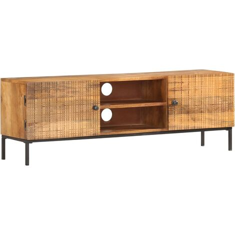 TV Cabinet 120x30x40 cm Solid Mango Wood