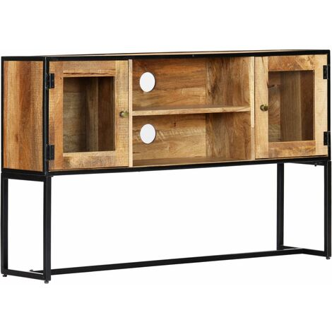 TV Cabinet 120x30x75 cm Solid Reclaimed Wood