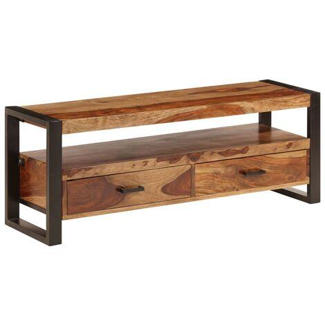 TV Cabinet 120x35x45 cm Solid Sheesham Wood