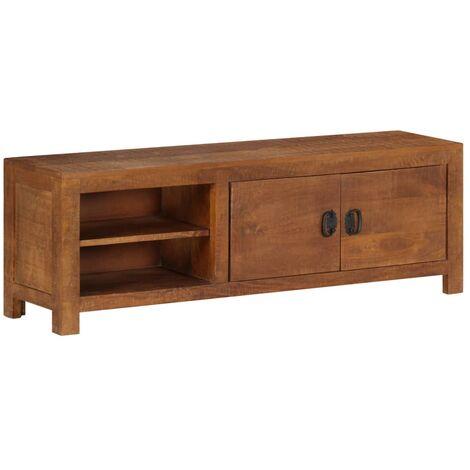 TV Cabinet 120x40x30 cm Solid Mango Wood