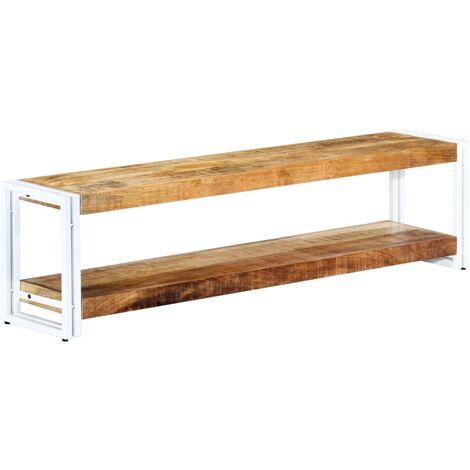 TV Cabinet 150x30x40 cm Solid Mango Wood