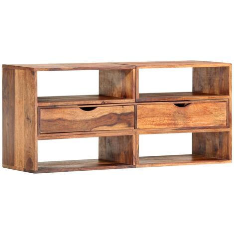 TV Cabinet 160x30x45 cm Solid Sheesham Wood