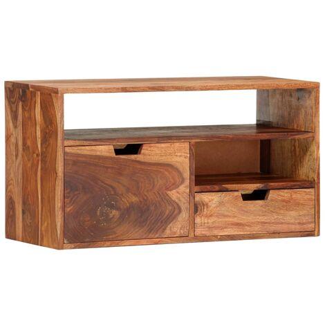 TV Cabinet 80x30x42 cm Solid Sheesham Wood