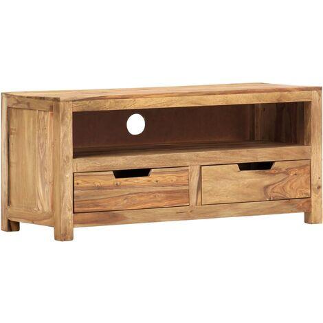 TV Cabinet 88x35x40 cm Solid Sheesham Wood