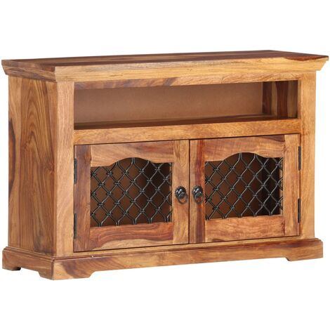 TV Cabinet 90x30x60 cm Solid Sheesham Wood