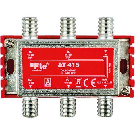 TV FTE clase A terrestre y satélite 1 salida 4db y 4 salidas 15db