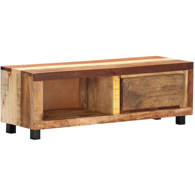 Vidaxl - TV-Schrank 100 x 30 x 33 cm Recyceltes Massivholz