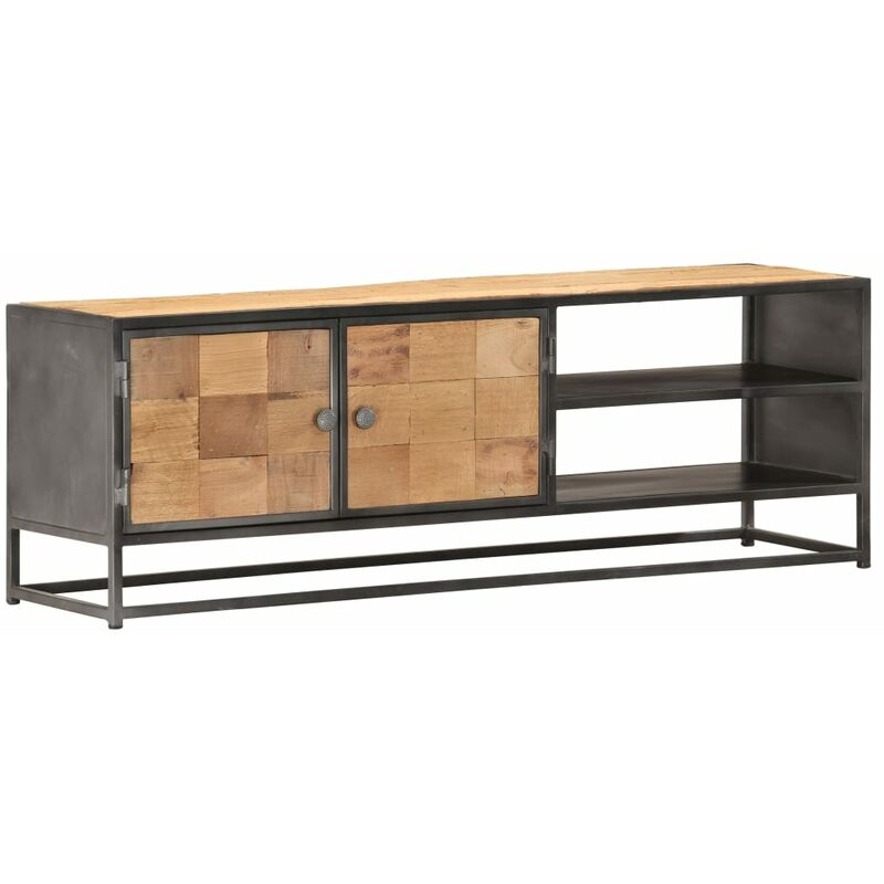Vidaxl - TV-Schrank 120×30×40 cm Massives Altholz