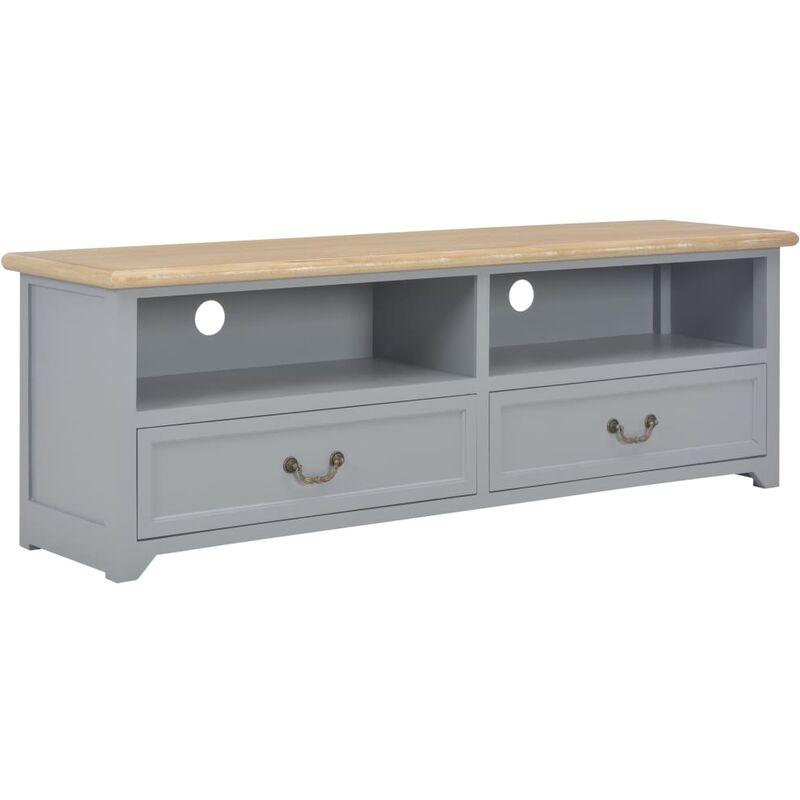 Zqyrlar - TV-Schrank Grau 120 x 40 x 30 cm Holz