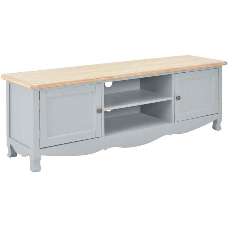Zqyrlar - TV-Schrank Grau 120×30×40 cm Holz
