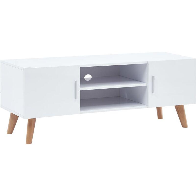Zqyrlar - TV-Schrank Weiß 120×40×46 cm MDF