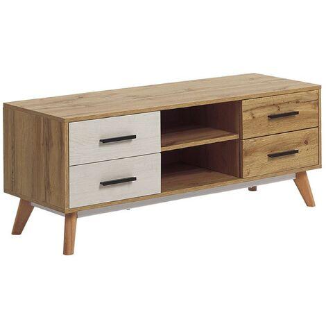 TV Stand Light Wood FLORIDA