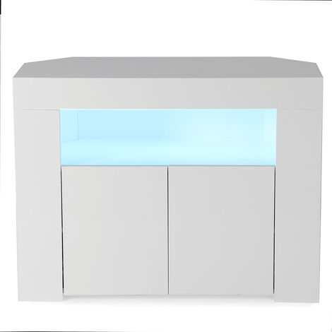 TV Stand with LED Light 86X65X40CM